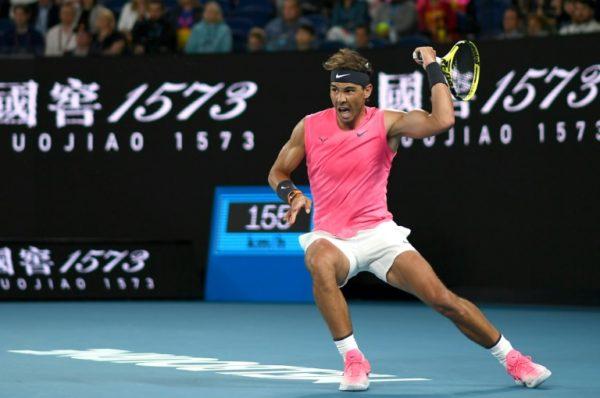 Open d'Australie: Nadal u 3è tour