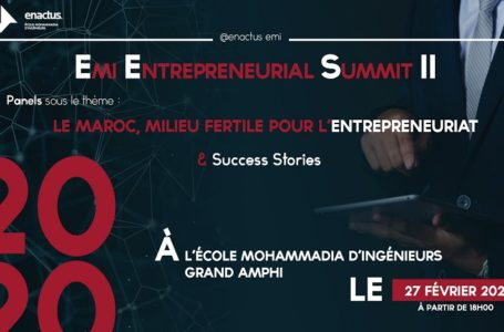 L'EMI Entrepreneurial Summit revient pour une deuxième édition