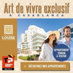 Découvrez les Résidences Louise en plein cœur de Casa Anfa - Quartier Anfa Clubs !
