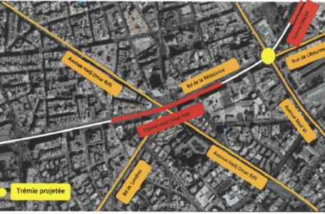 Casablanca: une nouvelle trémie sera construite sur le boulevard La Résistance