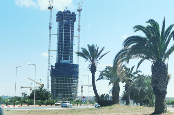 Tour Mohammed VI: les travaux de gros œuvres réalisés à 75%