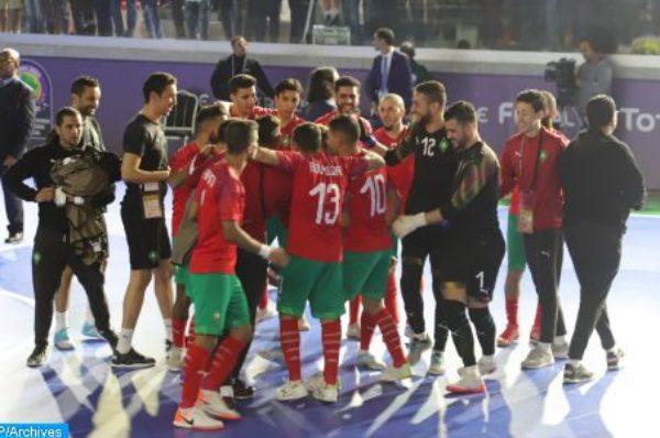 Coupe du monde de futsal: Le Maroc se qualifie pour les quarts de finale aux dépens du Venezuela (3-2)